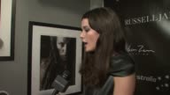 Nicole Trunfio at the Photographer Russell James and teNeues Launch Russell James Retrospective at New York NY