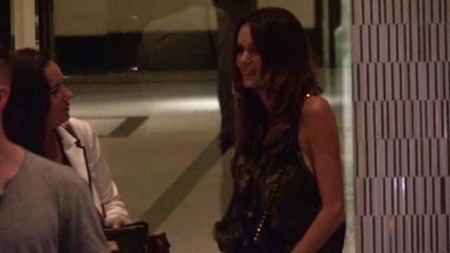 Nicole Trunfio departing Paper Towns Screening in The London in West Hollywood in Celebrity Sightings in Los Angeles