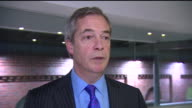 Nigel Farage criticising Speaker of the House of Commons John Bercow for taking a stance on Donald Trump's presidency saying that he 'should remain...