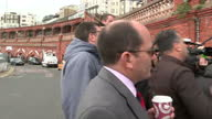 Nigel Farage in Ramsgate on the final day of the campaign Shows exterior shots Nigel Farage at Ramsgate Harbour facing questions from local man on...