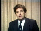 Nigel Lawson gives Autumn Statement d London Westminster intvwSOF 'Because we have Secretary of State for Energy' CAS ex VIDEO STUDIO 3mins...
