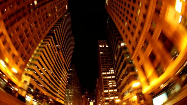 Night City Driving Timelapse