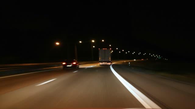 Night Drive (Time Lapse)
