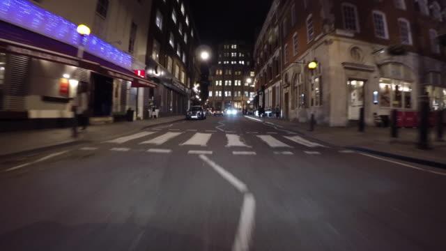 Night Driving in London