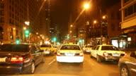 Night Driving thru Chicago