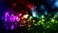 Night Galaxy Loop - Rainbow (HD 1080)