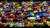 Night market in bangkok,thailand