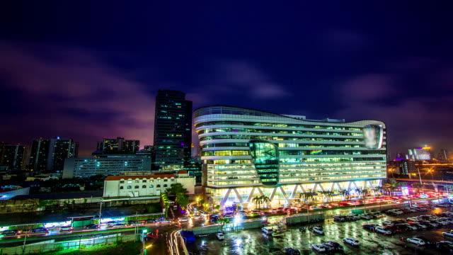 Nacht moderne stad
