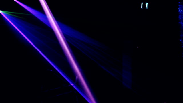 Night Laser-Show