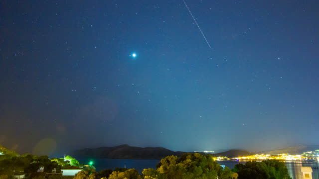 Night Sky Santa Ponsa Mallorca Majorca Milkyway Palma de Mallorca