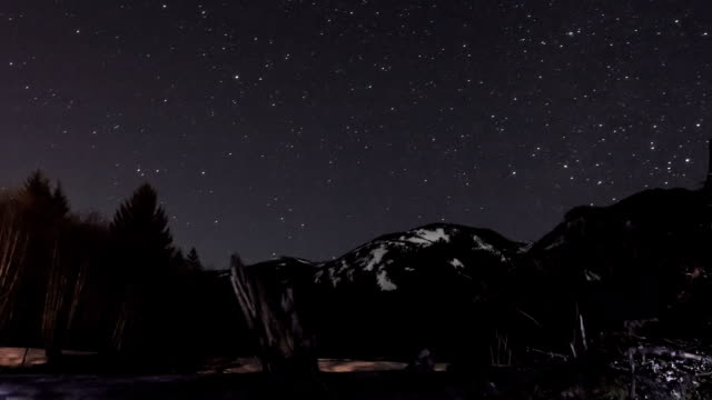 Night Stars Time Lapse