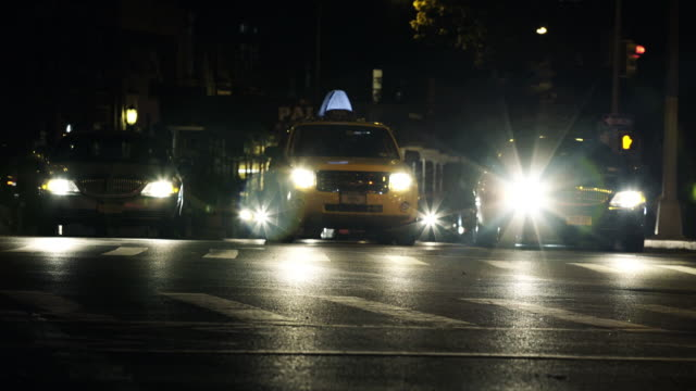 Night time crosswalk