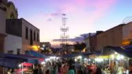 Night time street festival