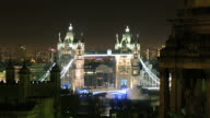 Night timelapse at Tower Bridge, London