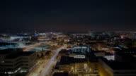 Night to dawn Denver timelapse
