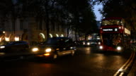 Night Traffic In London Aldwych