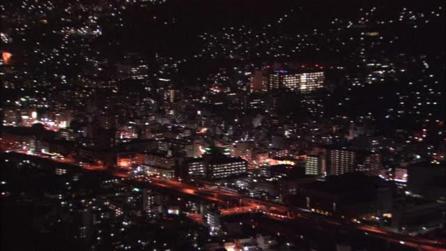Night View In Nagasaki, Japan