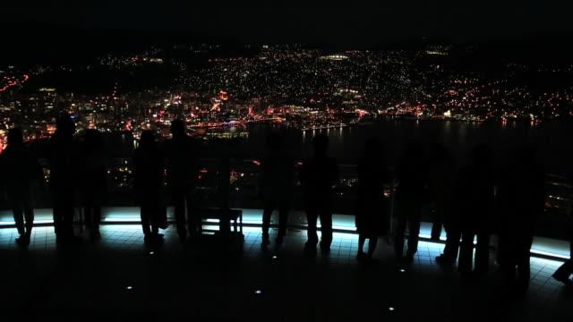 WS Night view of Nagasaki / Nagasaki, Nagasaki Prefecture, Japan