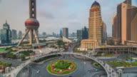 Nightfall Timelapse of Lujiazui and the Pearl, Shanghai, China