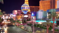 Nightlife in the strip, Las Vegas, Nevada