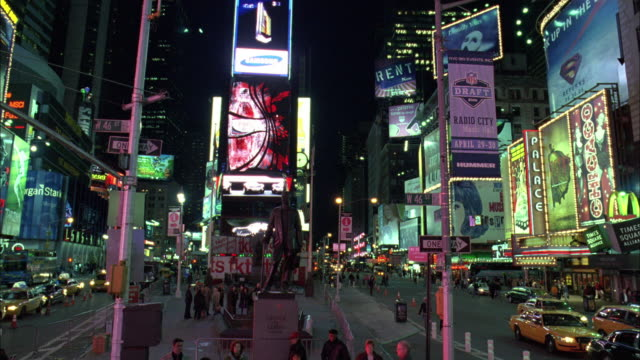 WS Nightlife in Time Square / New York City, New York, United States