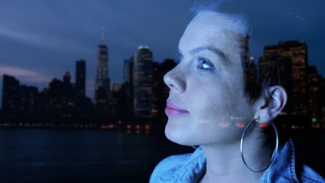 NYC Nachtleben.