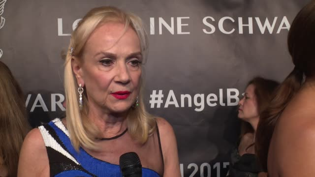 INTERVIEW Niki Cole talks about being honored tonight and the need for fundraising for cancer research at Angel Ball 2017 at Cipriani Wall Street on...