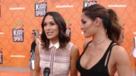 INTERVIEW Nikki Bella Brie Bella at Nickelodeon Kids' Choice Sports Awards 2016 at UCLA's Pauley Pavilion on July 14 2016 in Westwood California