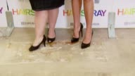 Nikki Blonsky and Amanda Bynes at the 'Hairspray' Jewelry Collection Launch at Kitson in Los Angeles California on July 15 2007