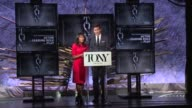 SPEECH Nikki James and Andrew Rannells announce Best Performance by an Actor in a Leading Role in a Play at The Tony Awards Nominations Announcement...