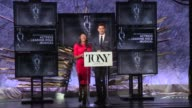 SPEECH Nikki James and Andrew Rannells announce nominees for Best Performance by an Actress in a Leading Role in a Musical at The Tony Awards...