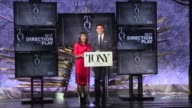SPEECH Nikki James and Andrew Rannells announce nominees for Best Direction of a Play and Best Direction of a Musical at The Tony Awards Nominations...