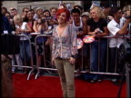 Nikki McKibbin at the American Idol Finale at the Kodak Theatre in Hollywood California on September 4 2002