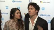 INTERVIEW Nikki Reed and Ian Somerhalder on why they wanted to be apart of WE Day what makes these kids so inspiring and what they're most looking...
