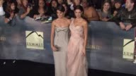 Nikki Reed Ashley Greene at The Twilight Saga Breaking Dawn Part Two Los Angeles Premiere on 11/12/12 in Los Angeles CA