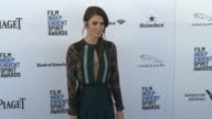 Nikki Reed at the 2016 Film Independent Spirit Awards Arrivals on February 27 2016 in Santa Monica California