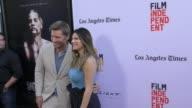 Nikolaj CosterWaldau and Lake Bell at The 2017 Los Angeles Film Festival Premiere of 'Shot Caller' at ArcLight Cinemas on June 17 2017 in Culver City...