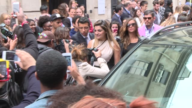 Nina Dobrev at Elie Saab arrivals Haute Couture 2014 at Pavillon Cambon Capucines on July 09 2014 in Paris France