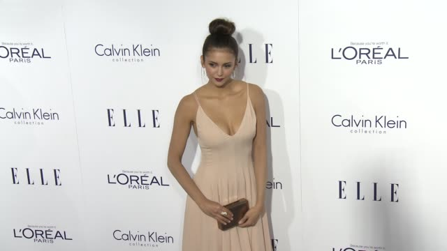 Nina Dobrev at the 2015 ELLE Women in Hollywood Awards at Four Seasons Hotel Los Angeles at Beverly Hills on October 19 2015 in Los Angeles California
