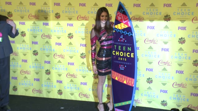 Nina Dobrev at the Teen Choice Awards 2015 at USC Galen Center on August 16 2015 in Los Angeles California