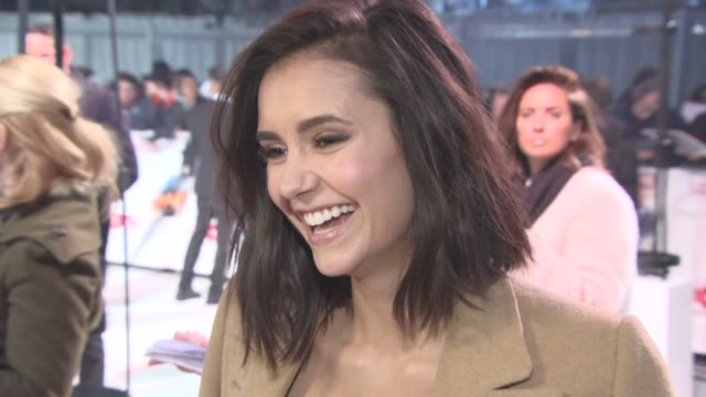 INTERVIEW Nina Dobrev on travelling the world and her onscreen character at xXx Return of Xander Cage Premiere European Premiere at Cineworld 02...
