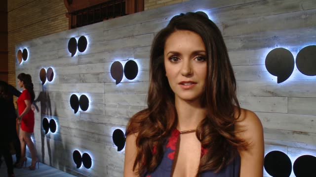 INTERVIEW Nina Dobrev on what brings her out what she's looking forward to about go90 at go90 gives VIP Sneak Peek of new Social Media Entertainment...