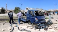Nine civilians were killed in fresh bombardments by regime and Russian forces in Khan Sheikhun town in northwestern Idlib province in wartorn Syria...