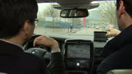 Nissan has been carrying out secret tests of its driverless cars in London and says an engineer only had to intervene to prevent a crash on 'a...