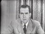Nixon 'Checkers' speech part 1 of 9
