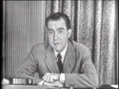 "the selling point in checkers speech by richard nixon Pair ""checkers speech"" with pair ""richard nixon's resignation speech"" with ""who gets to be president"" and ask students to discuss richard nixon."