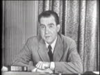 Nixon gives his 'Checkers' speech