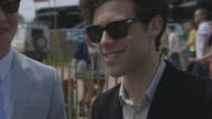 INTERVIEW Noah and the Whale on Glastonbury at Worthy Farm on June 29 2013 in Glastonbury England