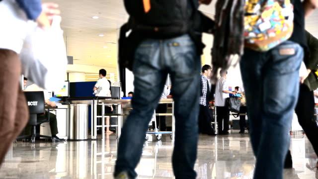 Noi Bai International Airport. Time lapse