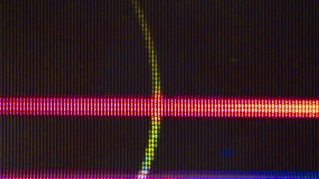 TV noise flickers and shifts (Video Loop).